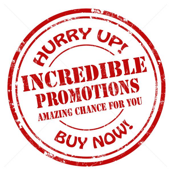 Hihetetlen grunge pecsét szöveg üzlet felirat Stock fotó © carmen2011
