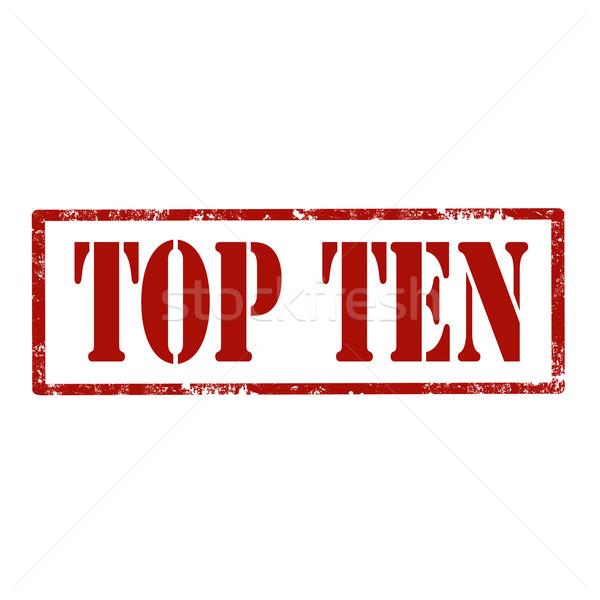 Top grunge testo vincitore vendita Foto d'archivio © carmen2011