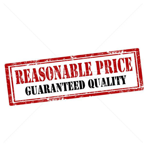 Reasonable Price-stamp Stock photo © carmen2011