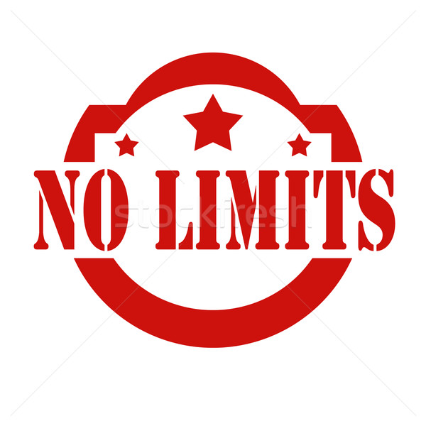 No limits-stamp Stock photo © carmen2011