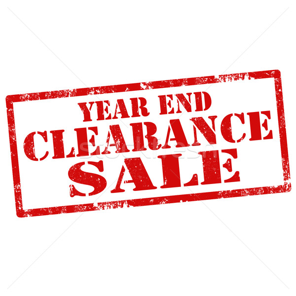 Year End Clearance Sale Stock photo © carmen2011