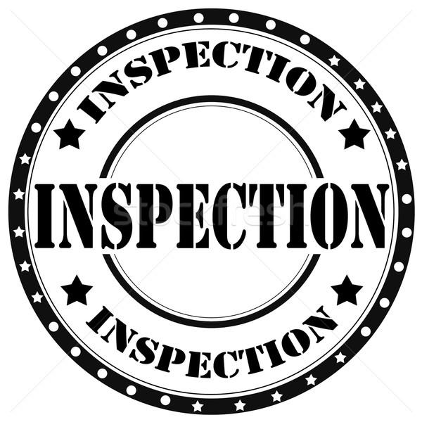 Inspection-stamp Stock photo © carmen2011
