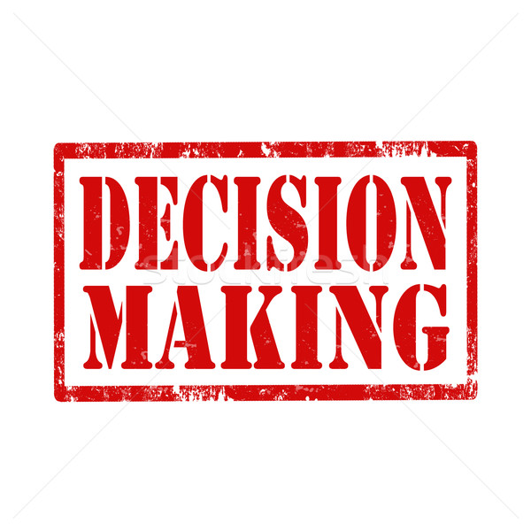 Decision Making-stamp Stock photo © carmen2011