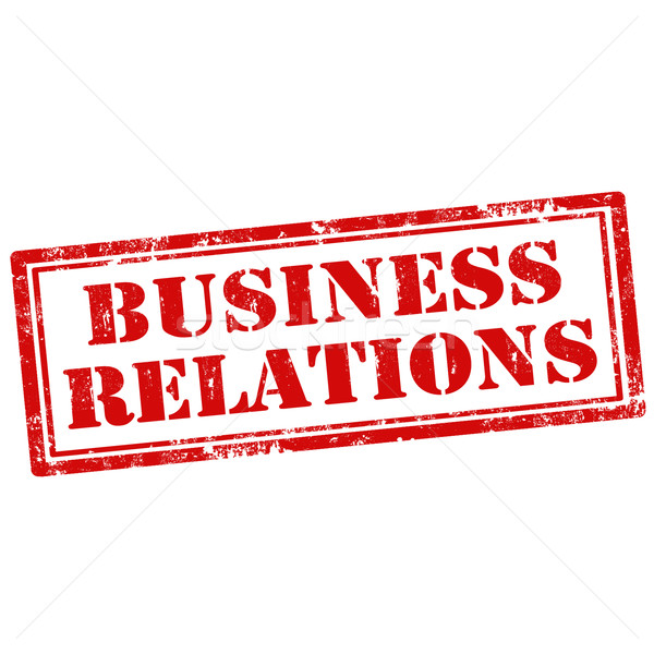 Affaires relations grunge texte Photo stock © carmen2011