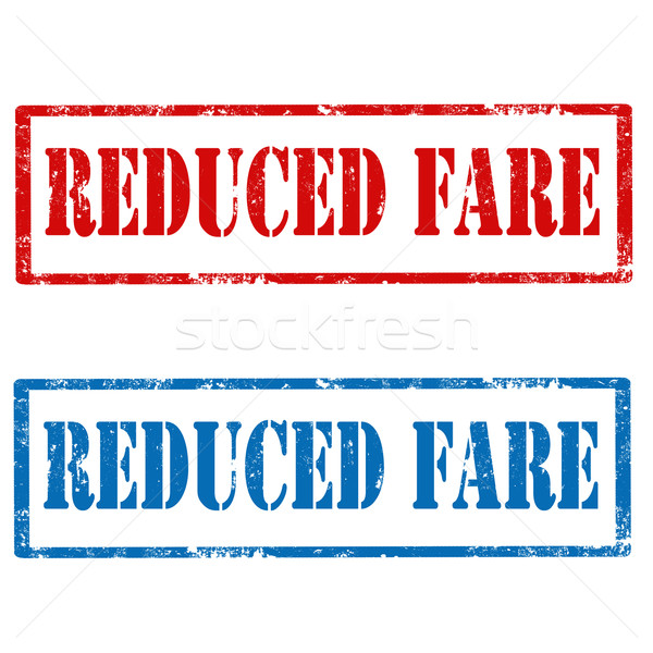 Reduced Fare Stock photo © carmen2011