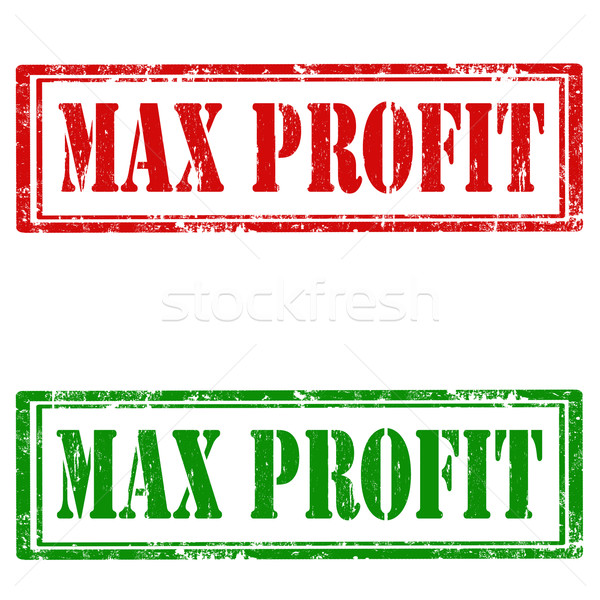 Max Profit Stock photo © carmen2011