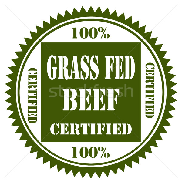 100% Grass Fed Beef Stock photo © carmen2011
