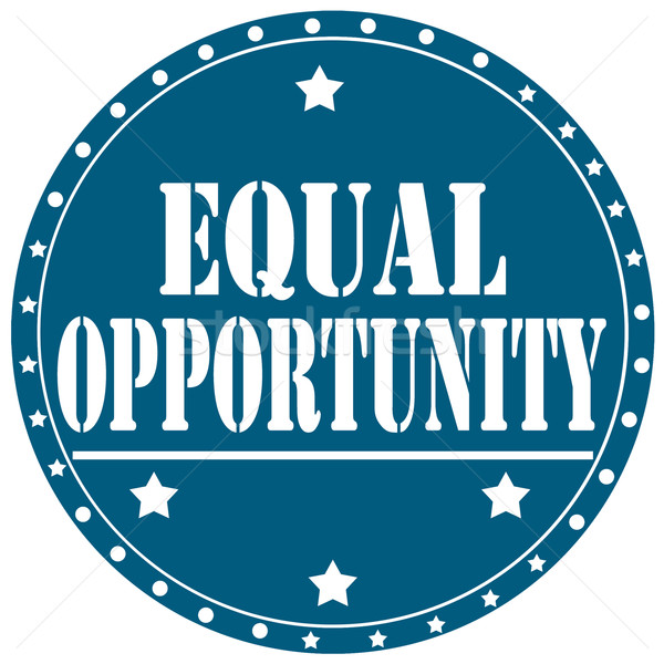 Equal Opportunity-label Stock photo © carmen2011