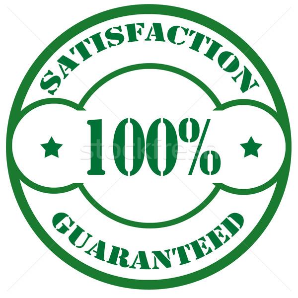 Satisfaction Guaranteed-stamp Stock photo © carmen2011