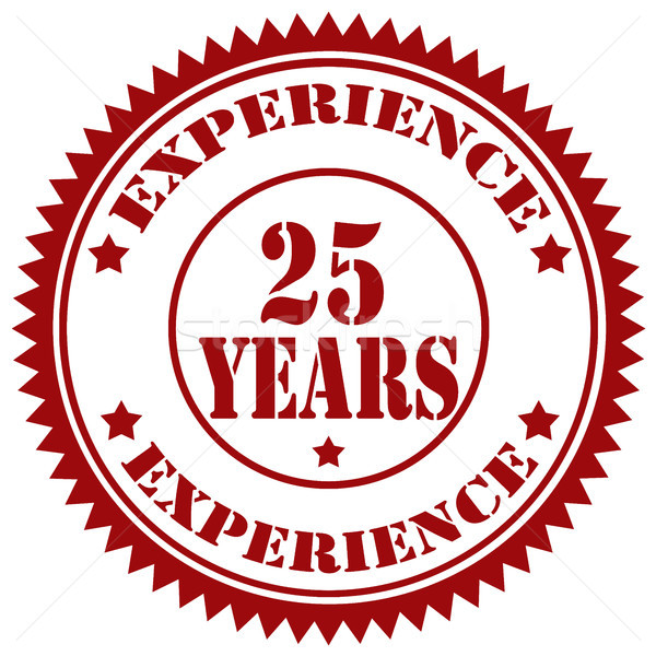 Experience-stamp Stock photo © carmen2011