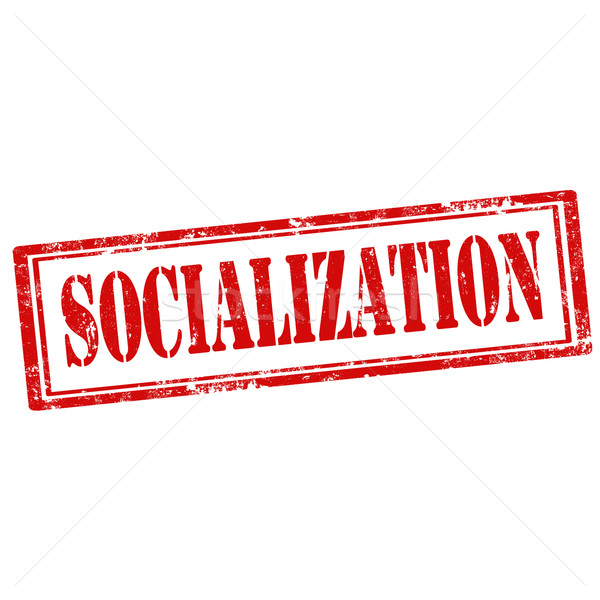 Socialization-stamp Stock photo © carmen2011