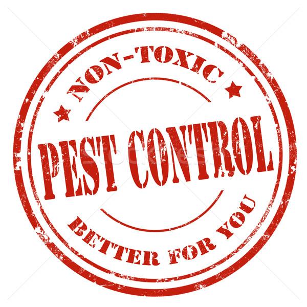 Pest grunge testo business controllo Foto d'archivio © carmen2011