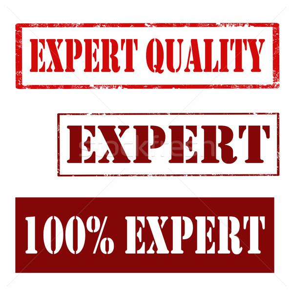 Expert Quality-stamps Stock photo © carmen2011