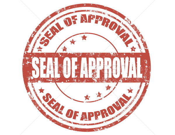 Seal of approval-stamp Stock photo © carmen2011