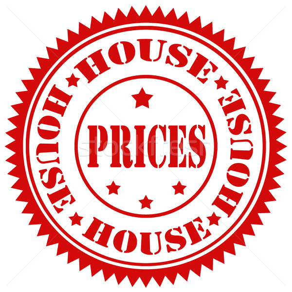 Casa testo business prezzo gomma Foto d'archivio © carmen2011
