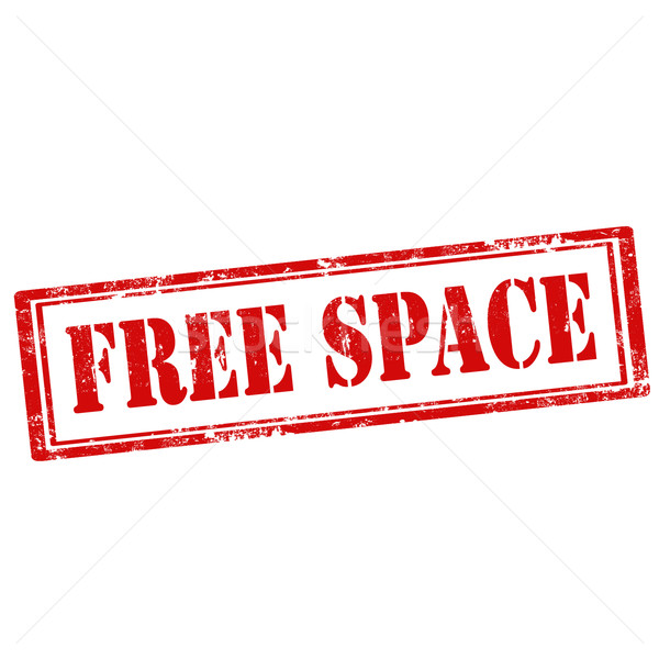 Free Space-stamp Stock photo © carmen2011