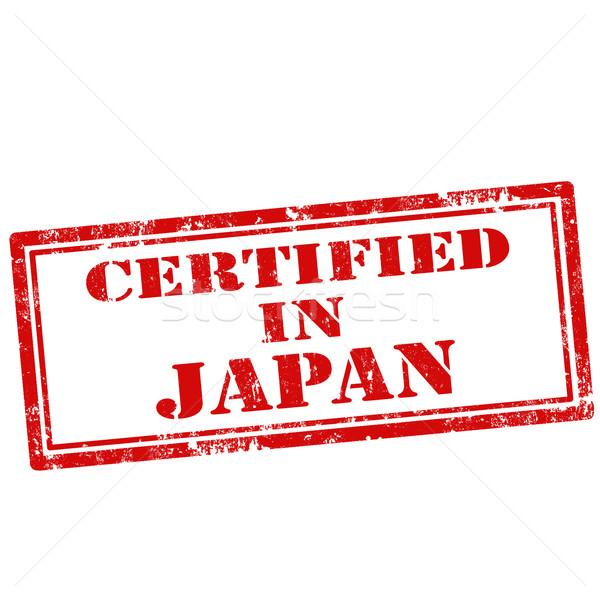 Certificado grunge texto qualidade borracha Foto stock © carmen2011