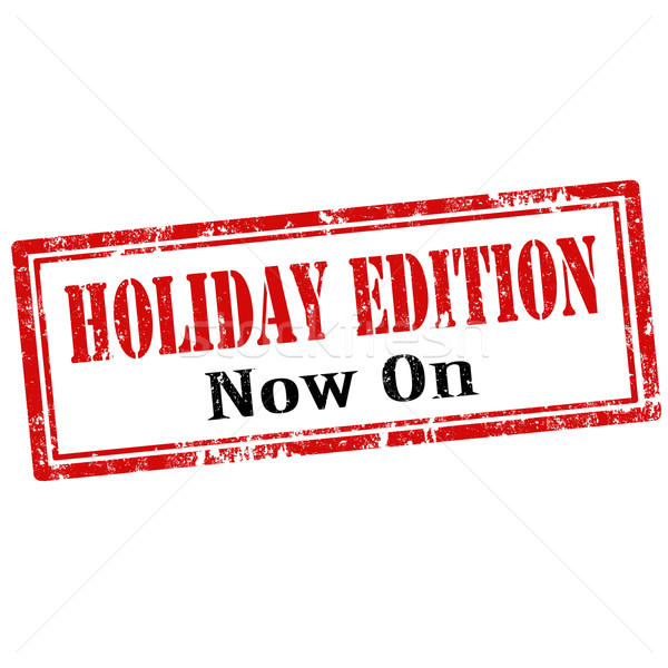 Holiday Edition-stamp Stock photo © carmen2011