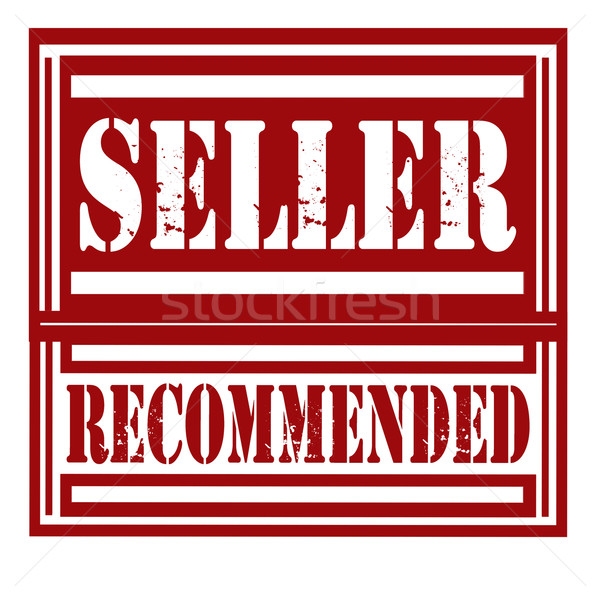 Seller Recommended-stamp Stock photo © carmen2011