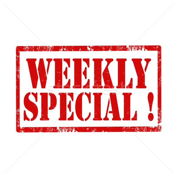 Weekly Special!-stamp Stock photo © carmen2011