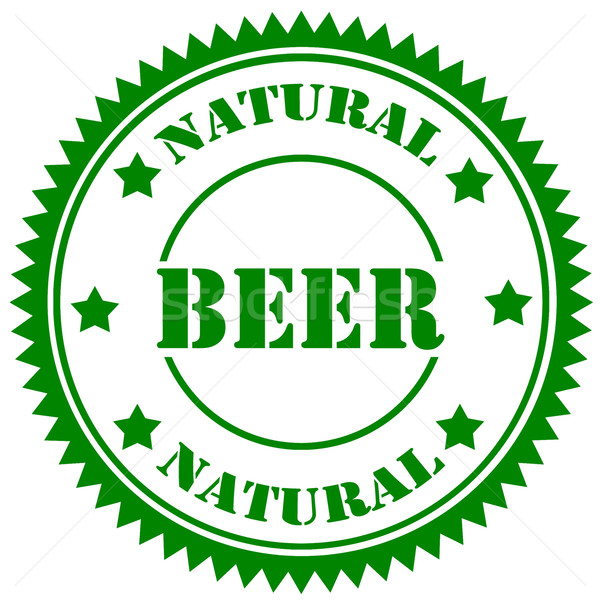 Texte bière boire alcool caoutchouc Photo stock © carmen2011