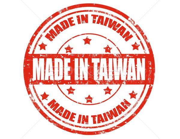 Made in Taiwan Stock photo © carmen2011