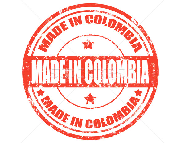 Made in Colombia Stock photo © carmen2011