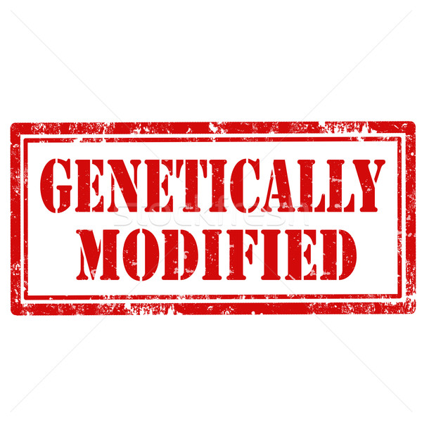 Genetically Modified-stamp Stock photo © carmen2011