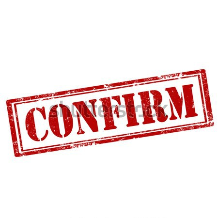 Confirm-red stamp Stock photo © carmen2011