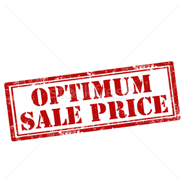 Optimum Sale Price Stock photo © carmen2011