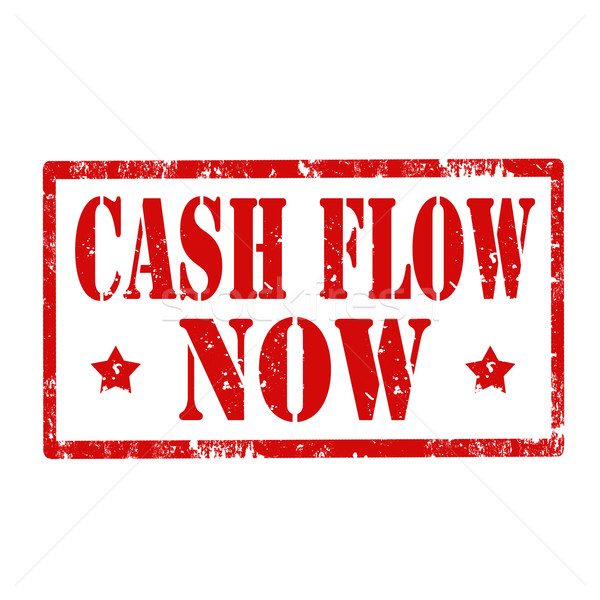 Cash Flow Now-stamp Stock photo © carmen2011
