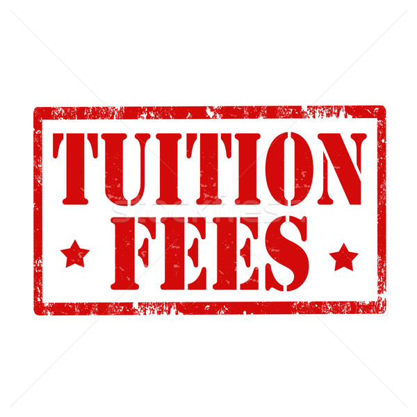 Tuition Fees-stamp Stock photo © carmen2011