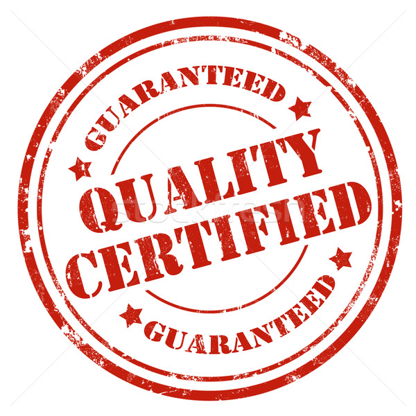 Quality Certified-stamp Stock photo © carmen2011