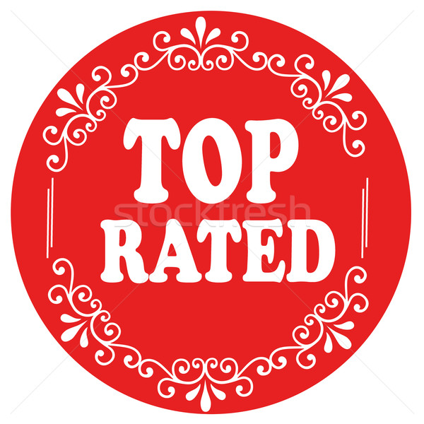 Top Rated-stamp Stock photo © carmen2011
