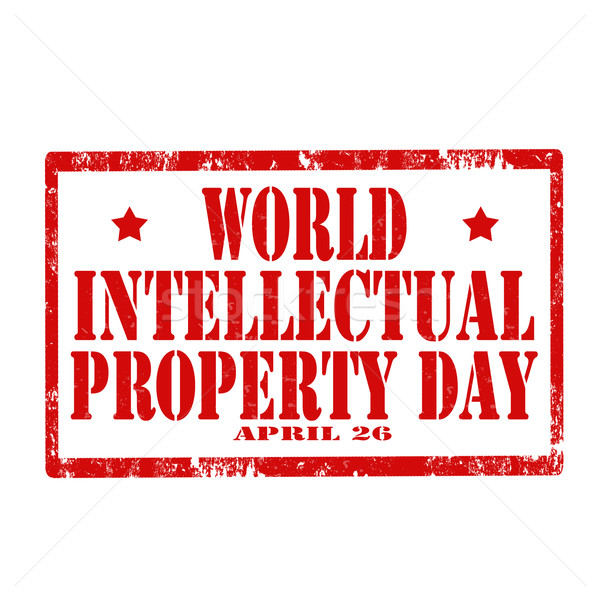 World Intellectual Property Day-stamp Stock photo © carmen2011