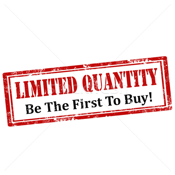 Limited Quantity-stamp Stock photo © carmen2011