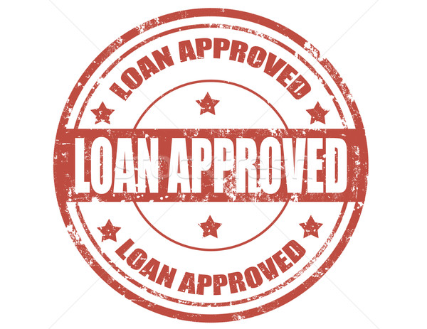 Loan approved-stamp Stock photo © carmen2011