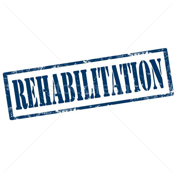 Rehabilitation-stamp Stock photo © carmen2011