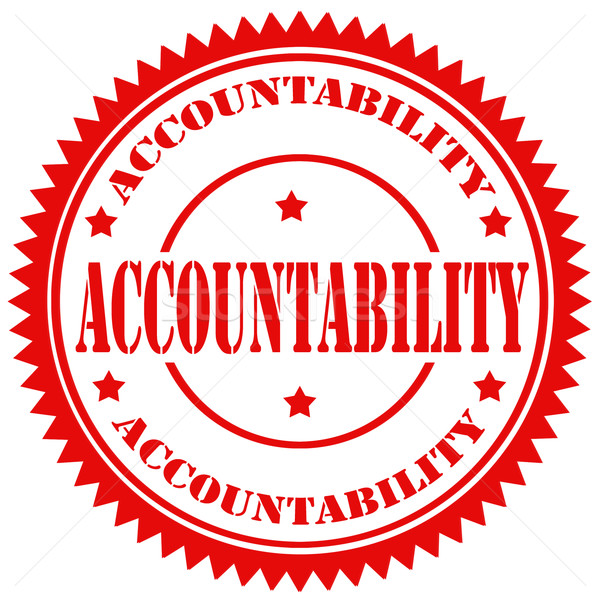 Accountability-stamp Stock photo © carmen2011
