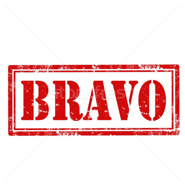 Grunge tekst teken succes icon Stockfoto © carmen2011