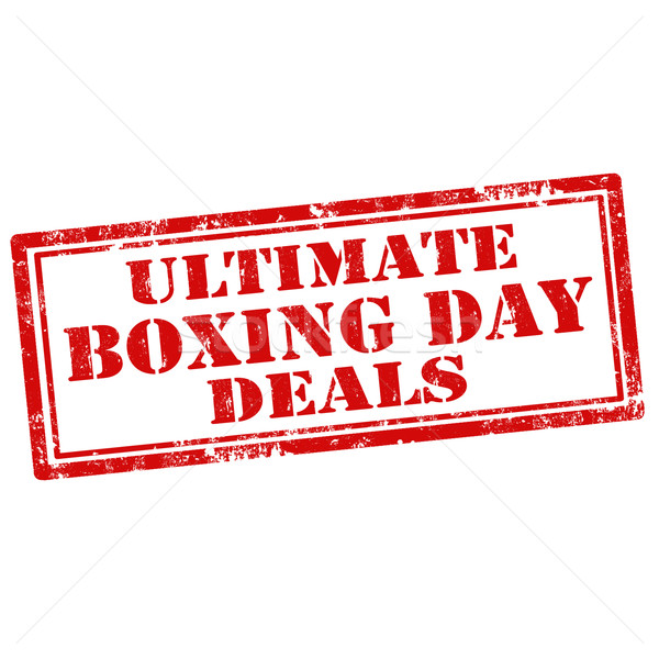Ultimate Boxing Day Deals Stock photo © carmen2011