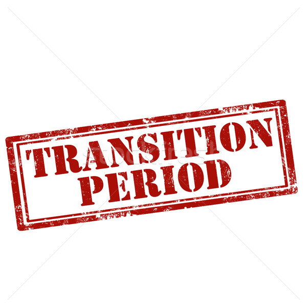 Transition Period-stamp Stock photo © carmen2011