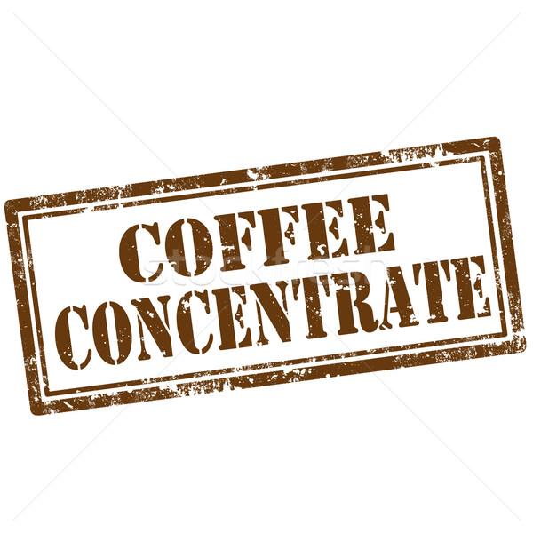 Kahve grunge metin iş perakende Stok fotoğraf © carmen2011