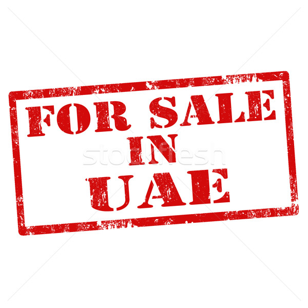 For Sale In UAE Stock photo © carmen2011