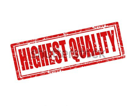 Highest Quality-stamp Stock photo © carmen2011