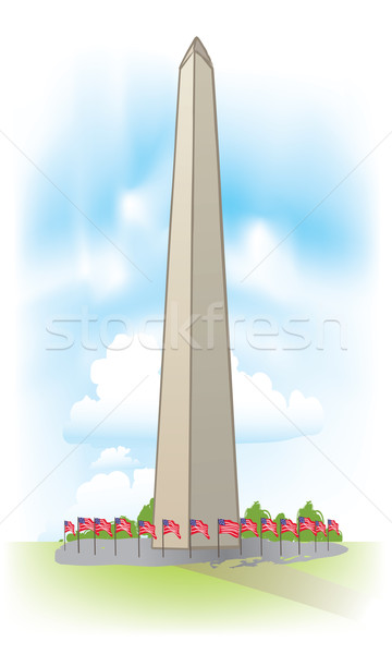 vector Washington Monument Stock photo © CarpathianPrince
