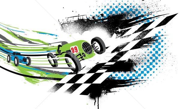 Race to the Finish Line Stock photo © CarpathianPrince