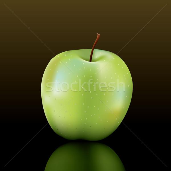 vector granny smith apple Stock photo © CarpathianPrince