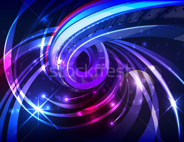 Abstract energy flow background Stock photo © CarpathianPrince