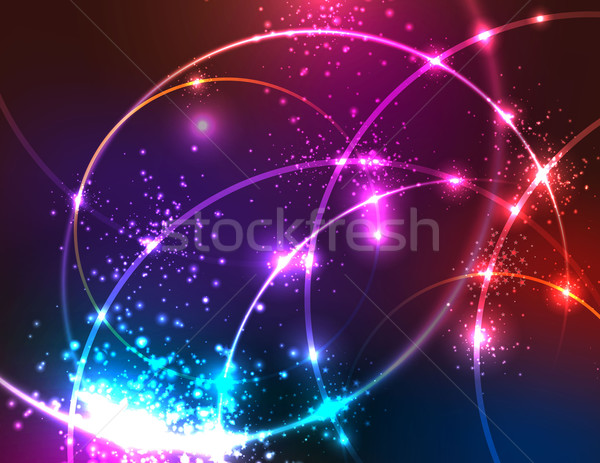 Sparkly Abstract Background. Stock photo © CarpathianPrince
